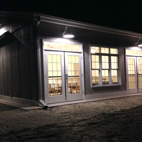 pond room at night